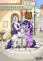 Day in Canterlot by mysticalpha