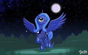 Happy Luna 16:10 by mysticalpha