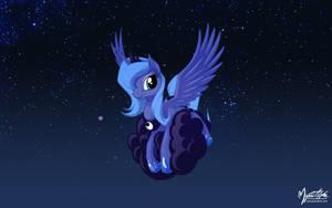 Luna on a Cloud 2 by mysticalpha