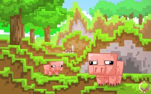 Minecraft Delicious Pigoo by mysticalpha