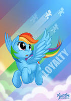 Rainbow's Loyalty by mysticalpha