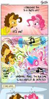 Pinkie and Cheese Sandwich Alternate Version by mysticalpha