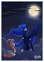 Luna the Nightmare Mistress by mysticalpha
