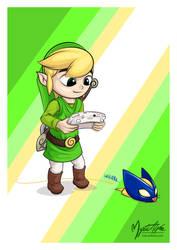 Link's bombchu by mysticalpha