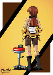 Walkman Girl by mysticalpha