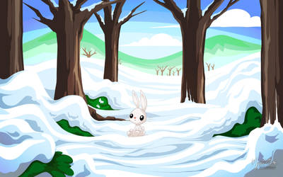 Angel Winter by mysticalpha