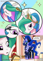 Day in the Lives of the Royal Sisters 20 by mysticalpha