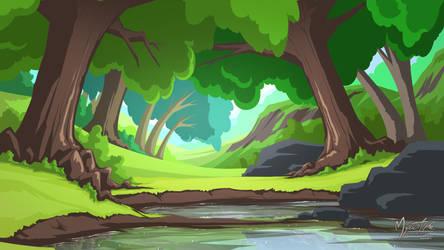 Tree Pond by mysticalpha