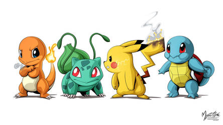 Pokemon Group by mysticalpha