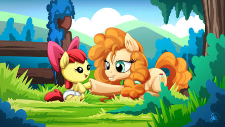 Pear Butter and Apple Bloom by mysticalpha