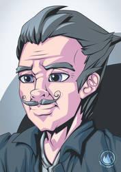 Mustache Guy 1 by mysticalpha
