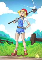 Farmgirl by mysticalpha