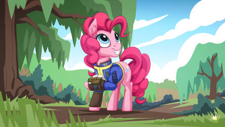 Fallout Pinkie by mysticalpha