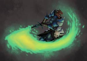 Wradaar DnD Dragonborn by SilkyNoire