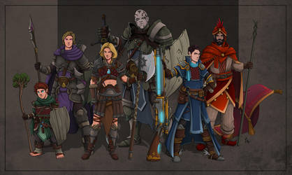 DnD Party by SilkyNoire