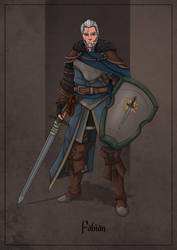 Fabian - Paladin by SilkyNoire