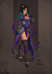 Venus Mariposa - Sorceress by SilkyNoire