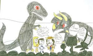 MST3K: The Last Dinosaur by SithVampireMaster27