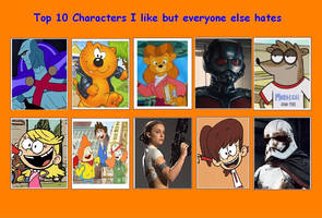 10 Characters I Like But Everyone Else Hates 07 by SithVampireMaster27