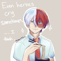 Even Heroes Cry by TheSunsProphet