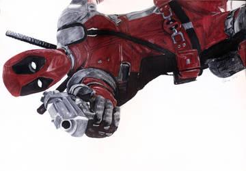 Deadpool  by kleopetra007