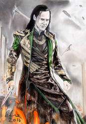 Loki by kleopetra007