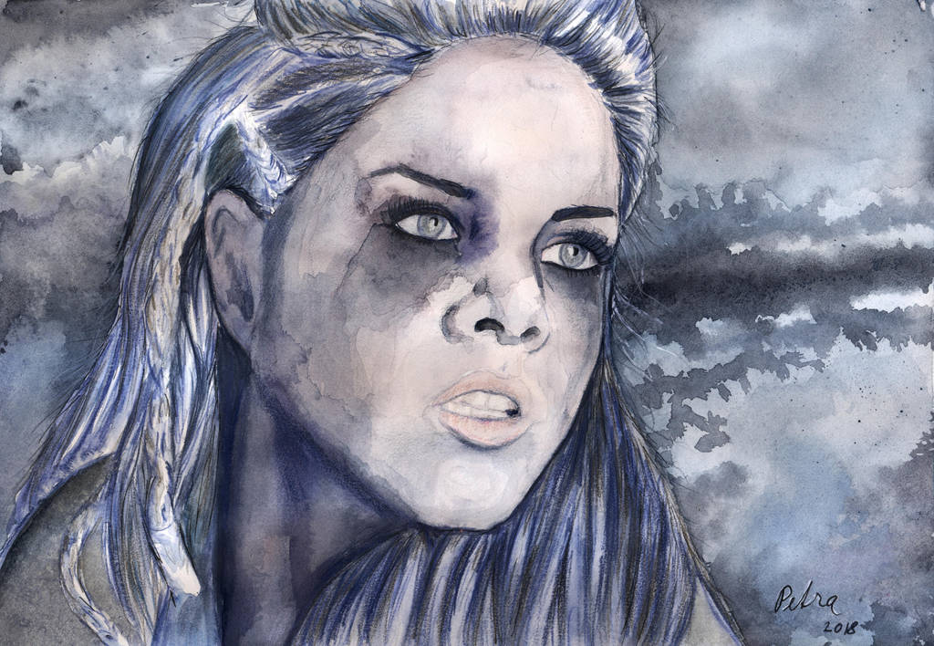 Octavia, The 100 by kleopetra007