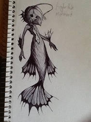 Anglerfish Cutie by WittleBanzaiTree