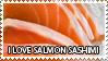 Salmon sashimi - stamp by Z-goofs