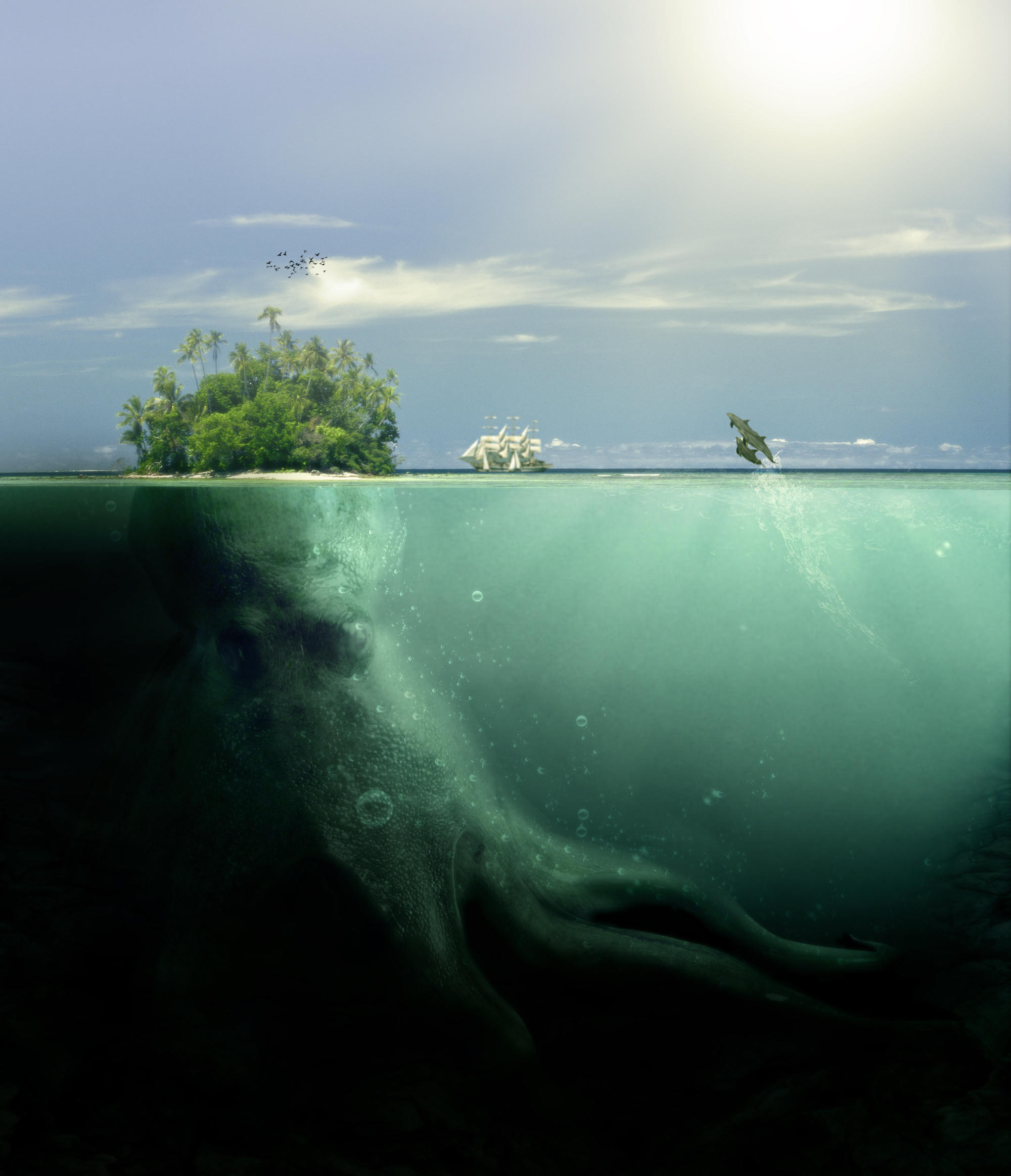 Octopus Isle by PSHoudini