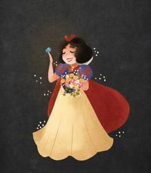 Snow White by morgansketch