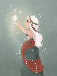 Snow Queen by morgansketch