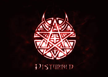 Disturbed Band logo by CyrusLoneWolf