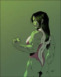 She Hulk by ZigEnfruke
