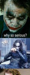 Crow vs. Joker by 7UC1D-DR34M