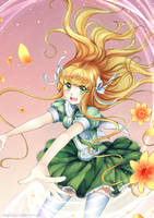 Flowing magic by RikkuHanari