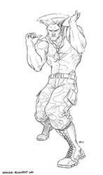 Guile by shubacca