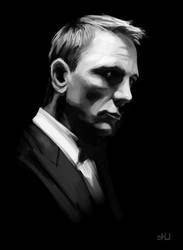Daniel Craig Study by shubacca