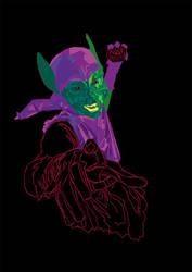 Green Goblin WIP by Puly1333