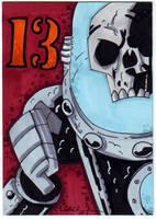 Robot 13 by LanceSawyer
