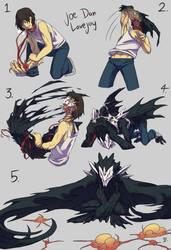 Man to Monster by DragonFeenix