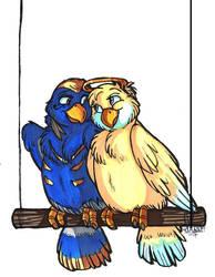 Pharmercy birdies by WildShoshana