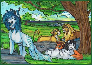 Commission - Av3nir by WildShoshana