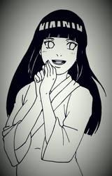 Happy Hinata by YukiLilaPudel