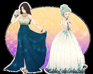 COLLAB - Dress Up by YukiLilaPudel
