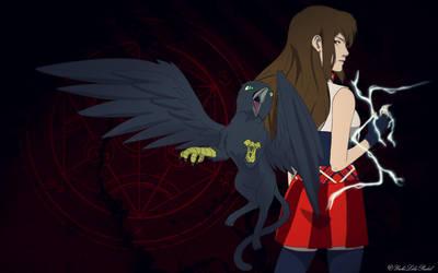 Amy and Kirim by YukiLilaPudel