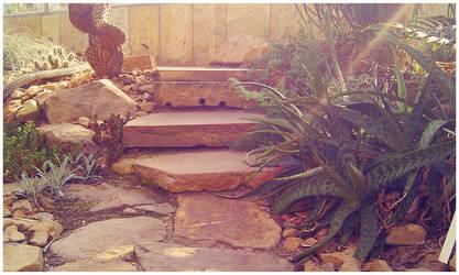 deserted steps by vincitrice