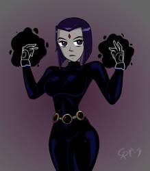 Raven by CrimsonReapress