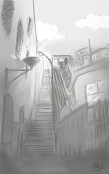 Little Street  by Nati-Green