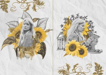 - [20/8/2018] - Graphic Sunflowers. by huyen416